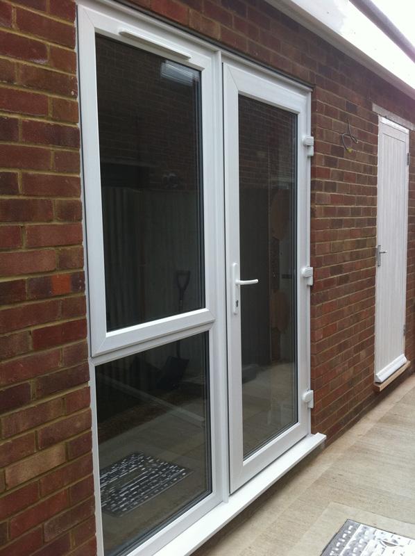 Pvc u doors marshall double glazing for Pvc double glazing
